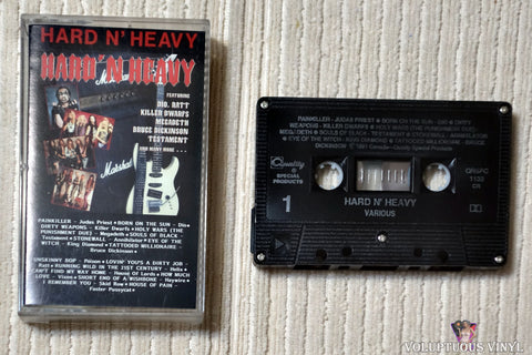 Various ‎– Hard N' Heavy (1991) Canadian Press