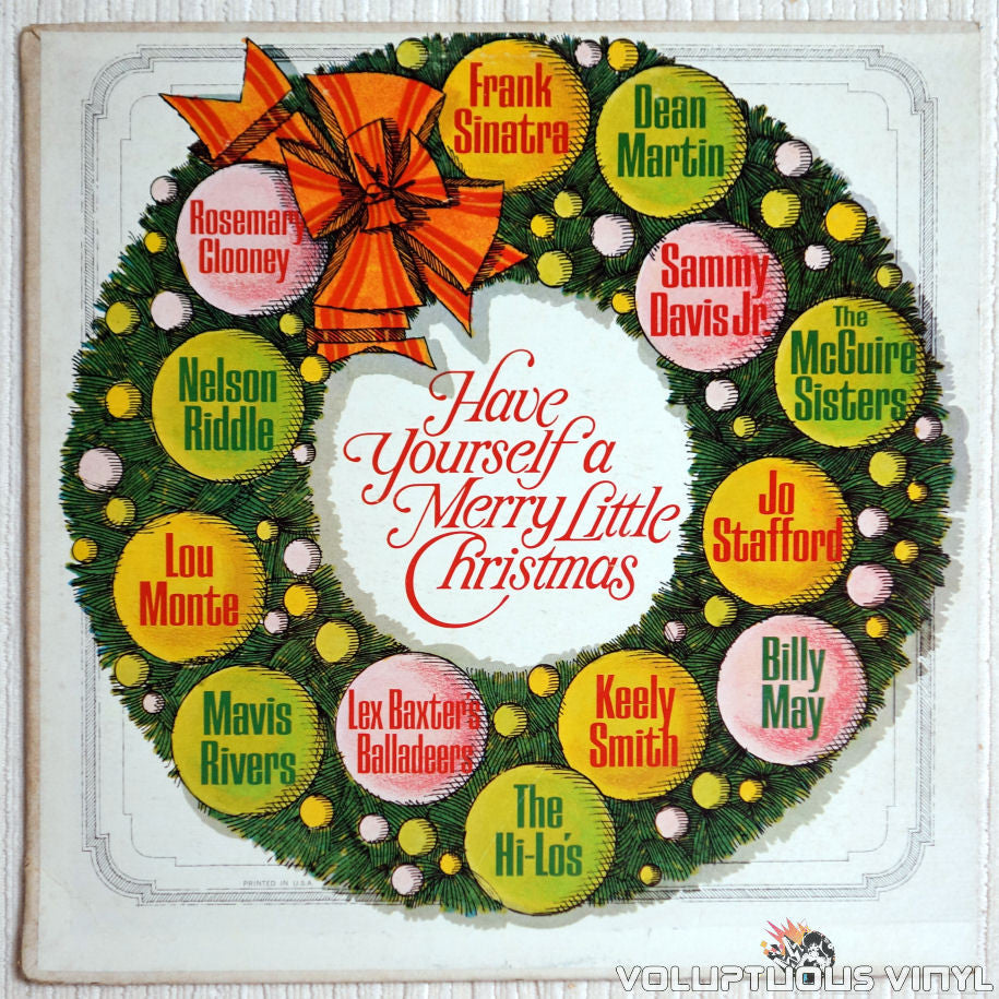 Frank Sinatra Have Yourself A Merry Little Christmas.Various Have Yourself A Merry Little Christmas Mono Promotional Pressing