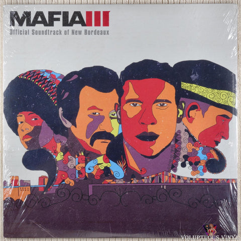Various ‎– Mafia III - Official Soundtrack Of New Bordeaux vinyl record front cover