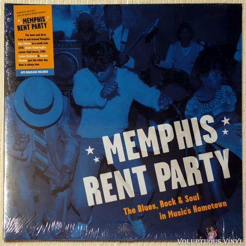 Various ‎– Memphis Rent Party - The Blues, Rock, & Soul In Music's Hometown (2018) SEALED