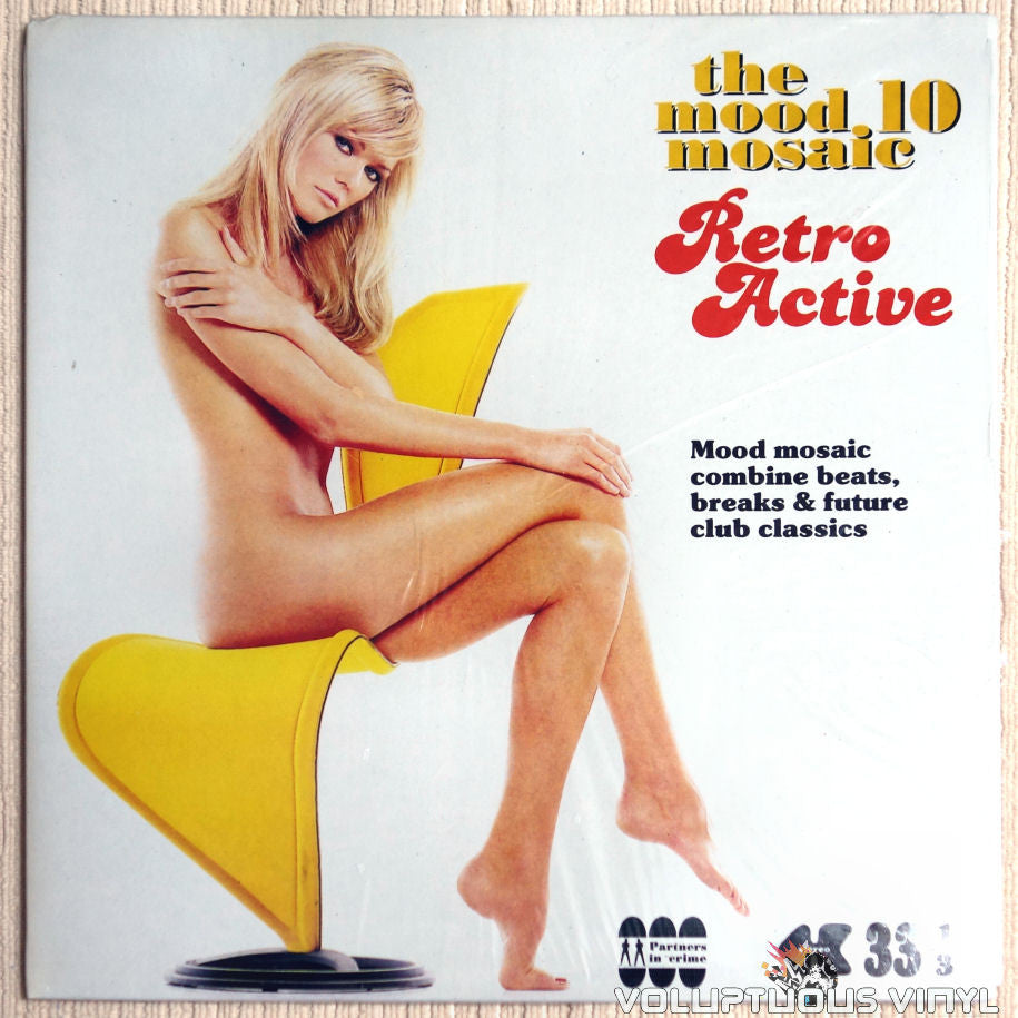 Various ‎– The Mood Mosaic 10 - Retro Active - Vinyl Record - Front Cover