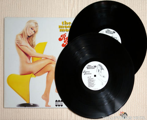 Various ‎– The Mood Mosaic 10 - Retro Active - Vinyl Record - Nude Cover