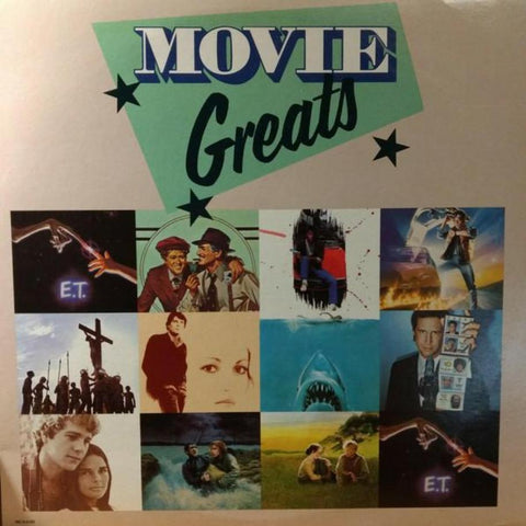 Various ‎– Movie Greats vinyl record front cover