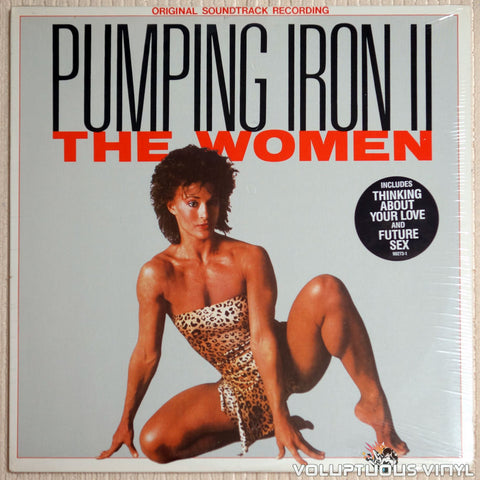 Various ‎– Pumping Iron II: The Women - Vinyl Record - Front Cover