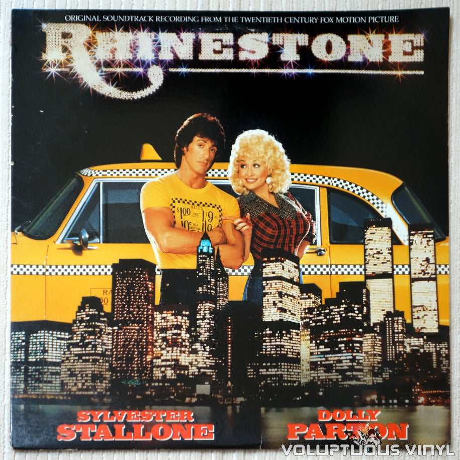 Various ‎– Rhinestone: Original Soundtrack - Vinyl Record - Front Cover