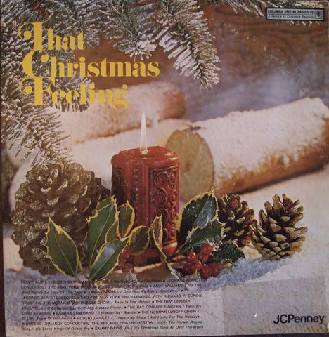 Various ‎– That Christmas Feeling (1973) Vinyl Record