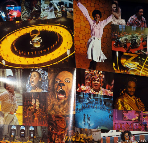 Various ‎– The Wiz (Original Motion Picture Soundtrack) poster