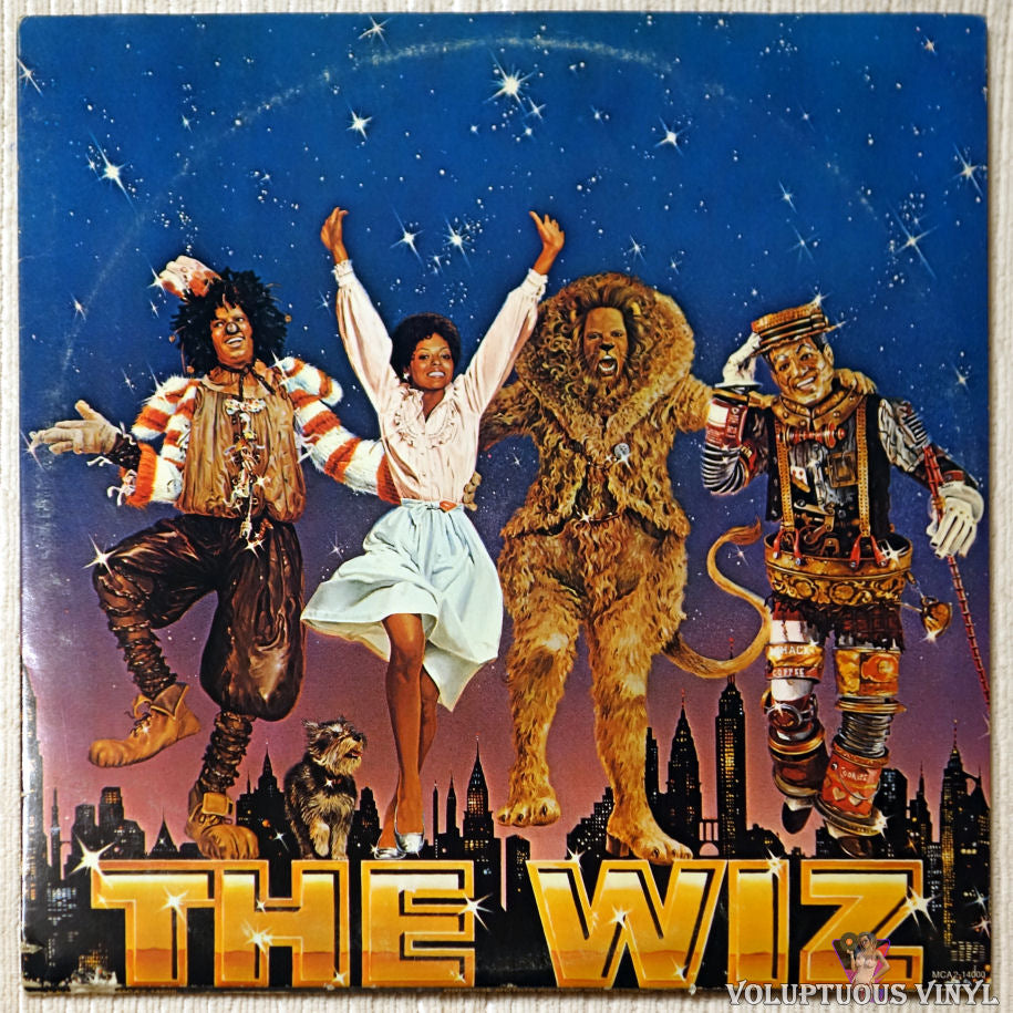Various ‎– The Wiz (Original Motion Picture Soundtrack) vinyl record front cover