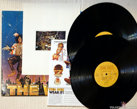 Various ‎– The Wiz (Original Motion Picture Soundtrack) vinyl record