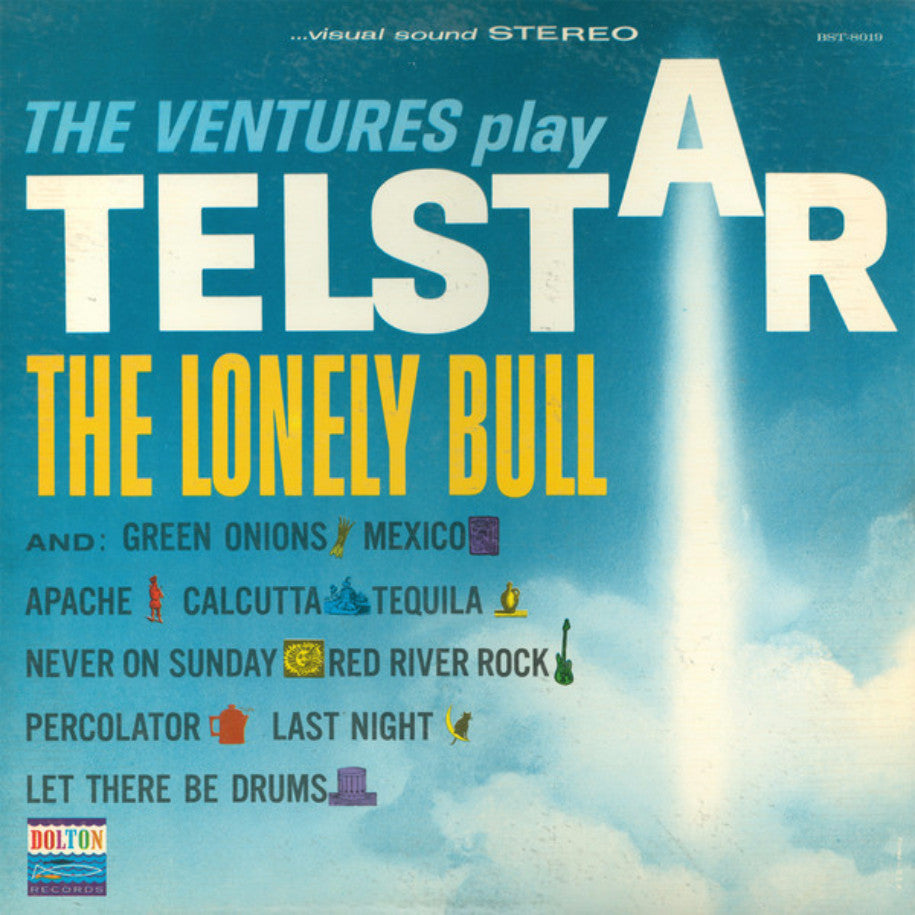 The Ventures ‎– Play Telstar, The Lonely Bull And Others - Vinyl Record - Front Cover
