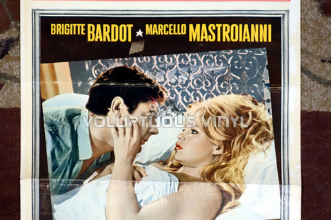 A Very Private Affair Italian movie poster Brigitte Bardot