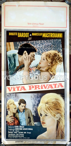 A Very Private Affair (1962) - Italian Locandina - Sexy Brigitte Bardot