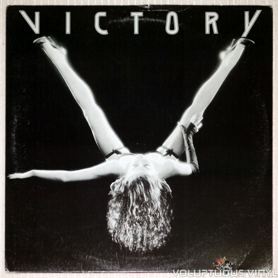 Victory – Victory - Vinyl Record - Front Cover Woman With Legs Spread Open