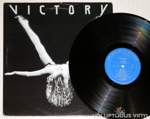 Victory – Victory - Vinyl Record - Woman With Legs Spread Open