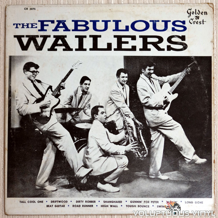 The Wailers ‎– The Fabulous Wailers - Vinyl Record - Front Cover