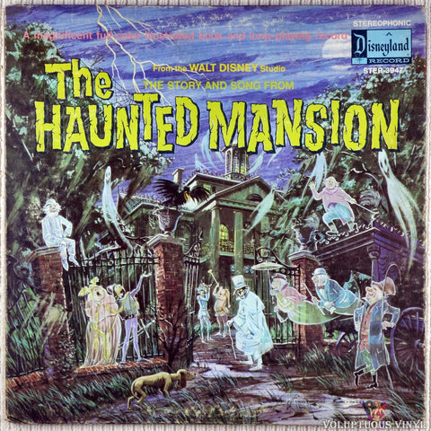 Walt Disney Studio ‎– The Story And Song From The Haunted Mansion vinyl record front cover