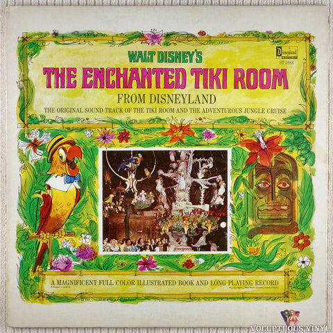Unknown Artist ‎– Walt Disney's The Enchanted Tiki Room vinyl record front cover