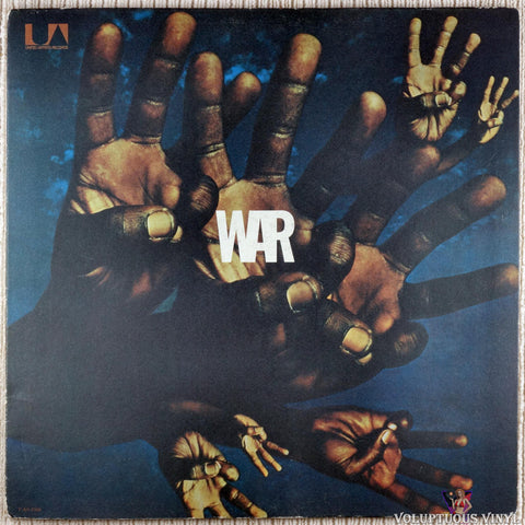 War ‎– War vinyl record front cover