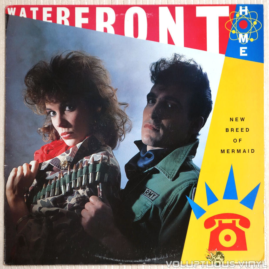 Waterfront Home ‎– New Breed Of Mermaid - Vinyl Record - Front Cover