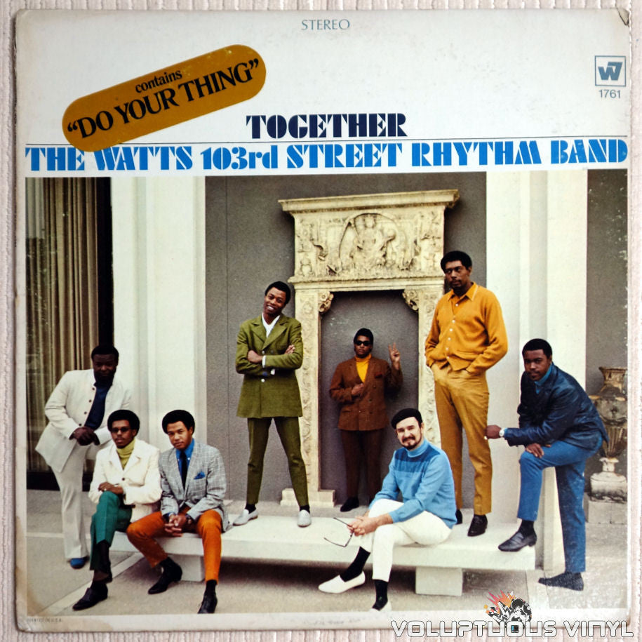 The Watts 103rd Street Rhythm Band ‎– Together - Vinyl Record - Front Cover