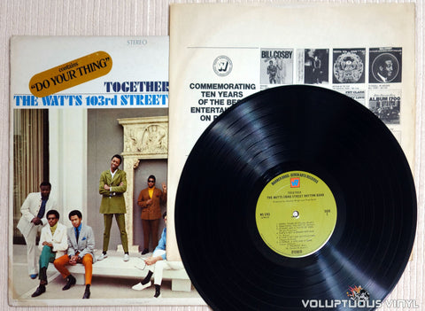 The Watts 103rd Street Rhythm Band ‎– Together - Vinyl Record