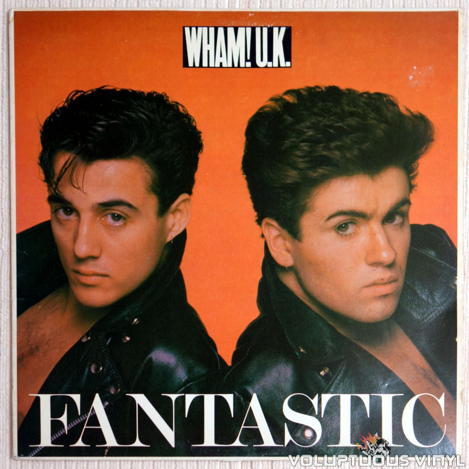 Wham! ‎– Fantastic (George Michael) - Vinyl Record - Front Cover