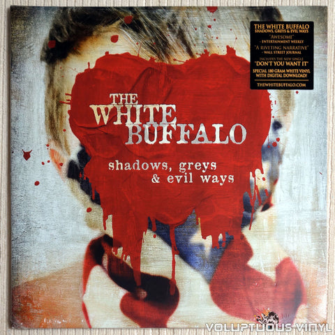 The White Buffalo ‎– Shadows, Greys & Evil Ways - Vinyl Record - Front Cover