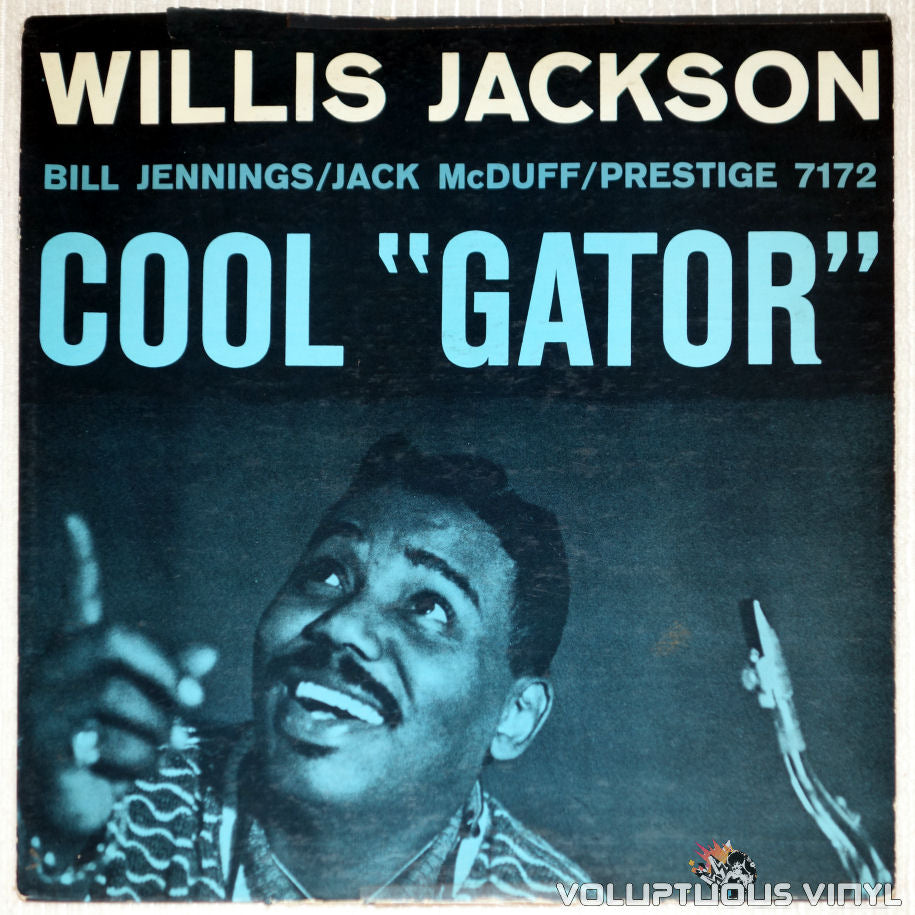 "Willis Jackson ‎– Cool ""Gator"" - Vinyl Record - Front Cover"
