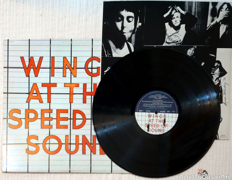 Wings ‎– At The Speed Of Sound vinyl record