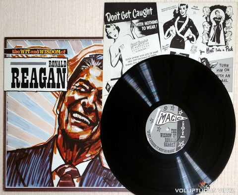 No Artist ‎– The Wit And Wisdom Of Ronald Reagan - Vinyl Record