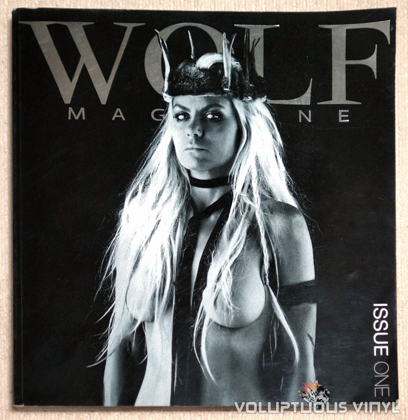 Wolf Magazine Issue One Front Cover Fashion Nude Photography