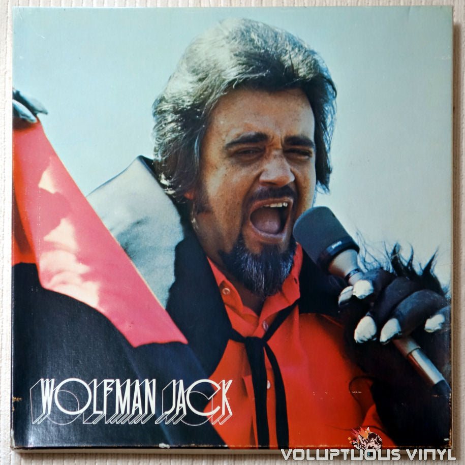 Wolfman Jack ‎– The United States Air Force Presents Wolfman Jack: Series #53 - Vinyl Record - Front Cover