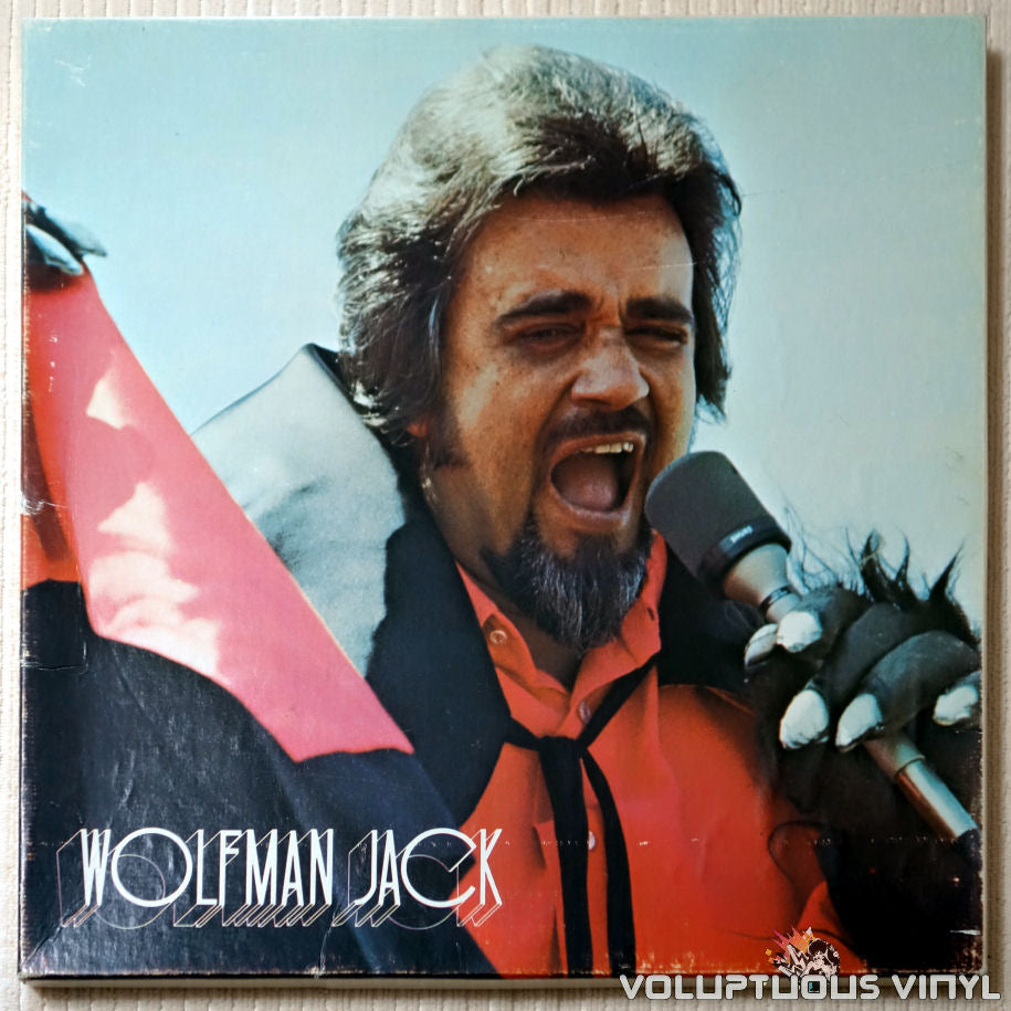 Wolfman Jack ‎– The United States Air Force Presents Wolfman Jack: Series #54 - Vinyl Record - Front Cover
