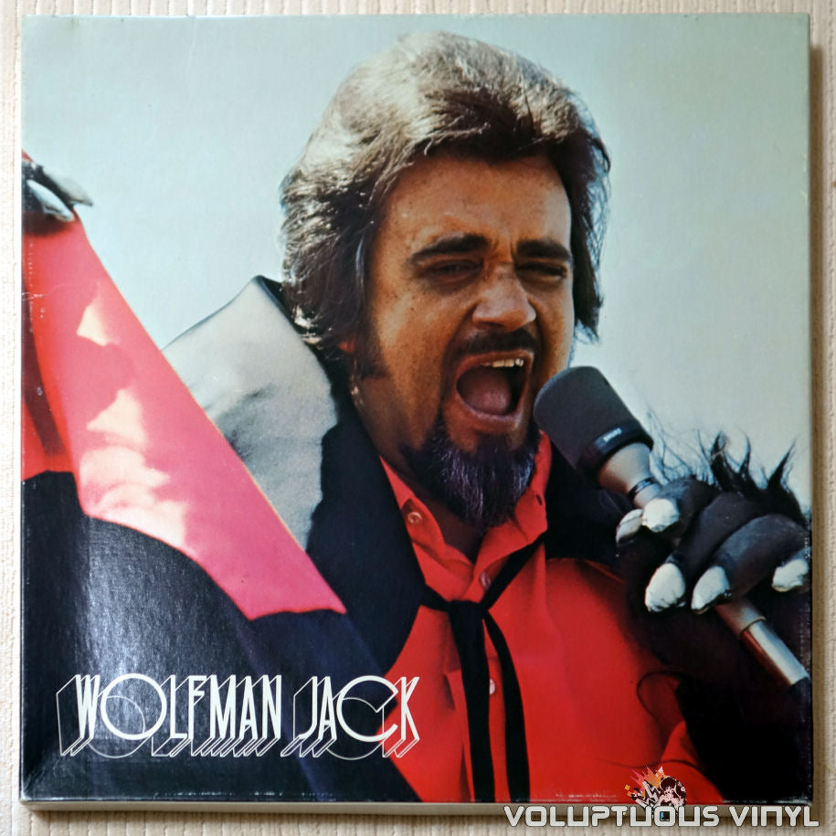 Wolfman Jack ‎– The United States Air Force Presents Wolfman Jack: Series #71 - Vinyl Record - Front Cover