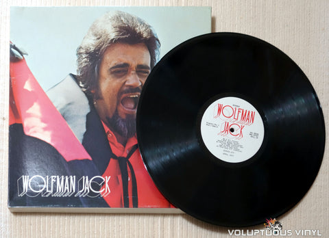 Wolfman Jack ‎– The United States Air Force Presents Wolfman Jack: Series #71 - Vinyl Record