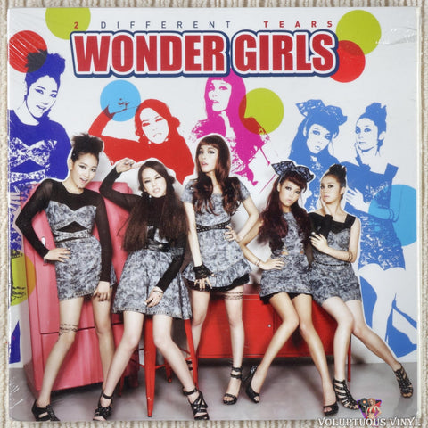 Wonder Girls ‎– 2 Different Tears (2010) Korean Press, SEALED