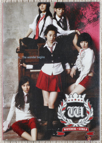Wonder Girls ‎– The Wonder Begins (2007) Korean Press