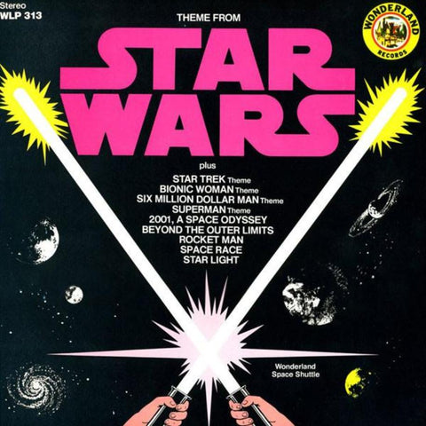 Wonderland Space Shuttle ‎– Theme From Star Wars - Vinyl Record