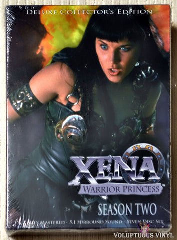 Xena Warrior Princess - Season Two DVD front cover