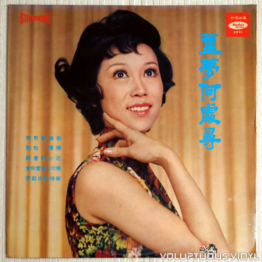 姚蘇蓉 ‎– 姚蘇蓉最新名曲 (Yao Su Yong's Latest Popular Hits) - Vinyl Record - Front Cover