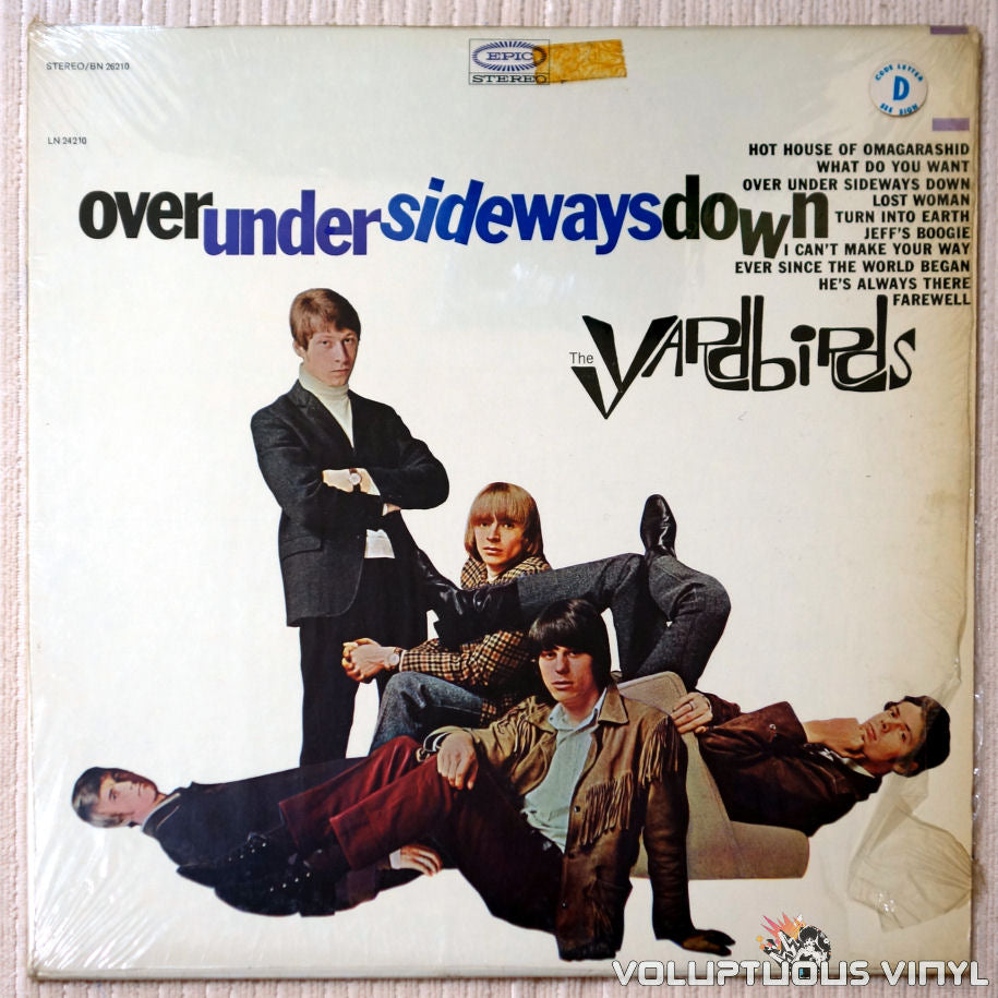 The Yardbirds ‎– Over Under Sideways Down - Vinyl Record - Front Cover