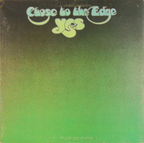 Yes ‎– Close To The Edge (1972) Cheap Vinyl Record