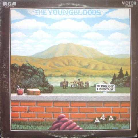 The Youngbloods ‎– Elephant Mountain vinyl record front cover