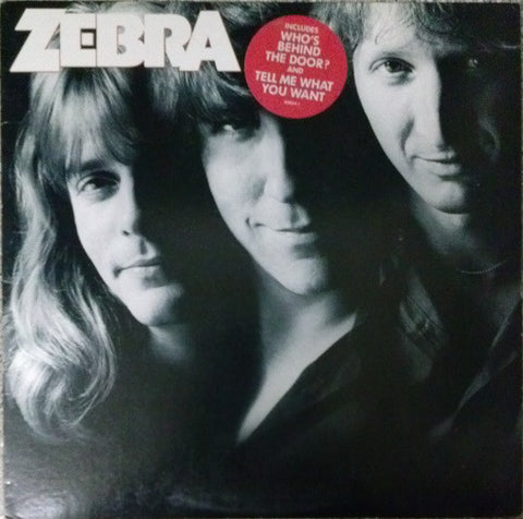 Zebra ‎– Zebra (1983) Cheap Vinyl Record
