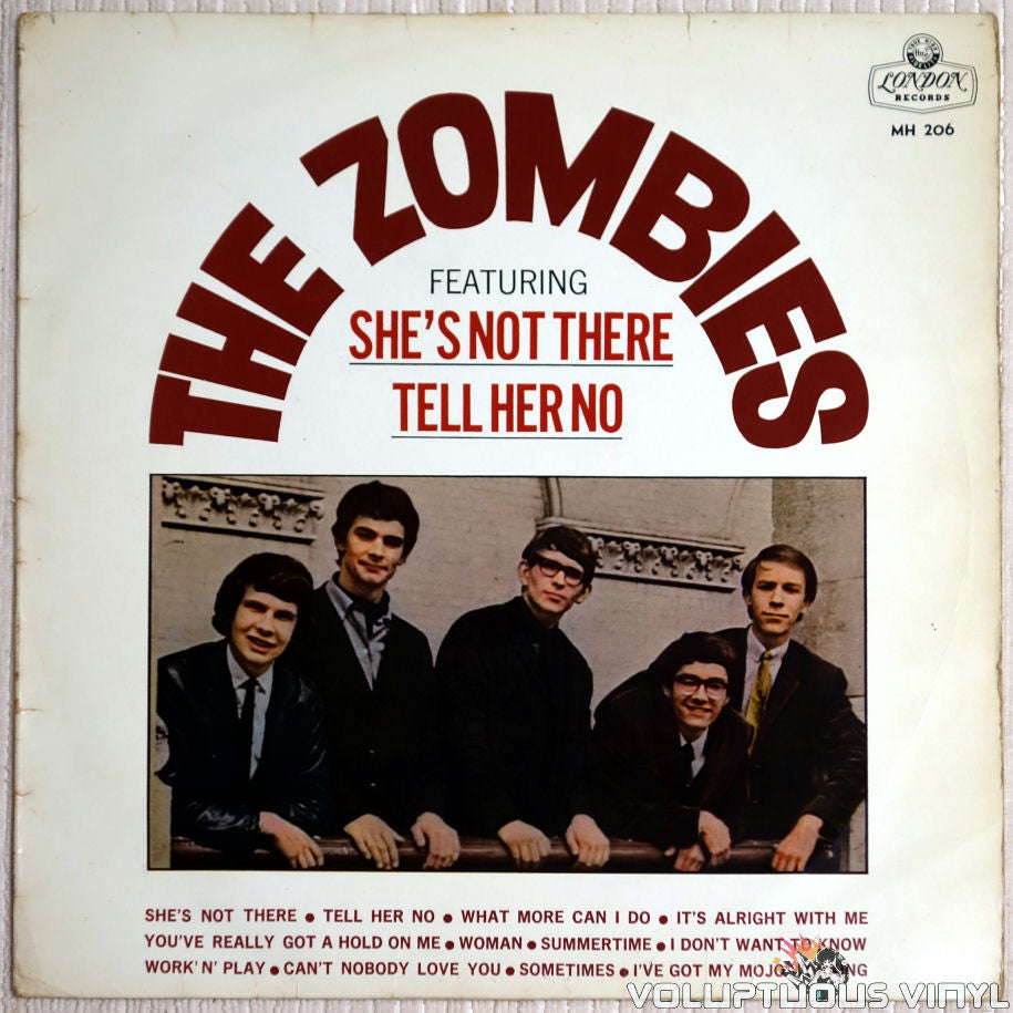 The Zombies ‎– The Zombies - Vinyl Record - Front Cover
