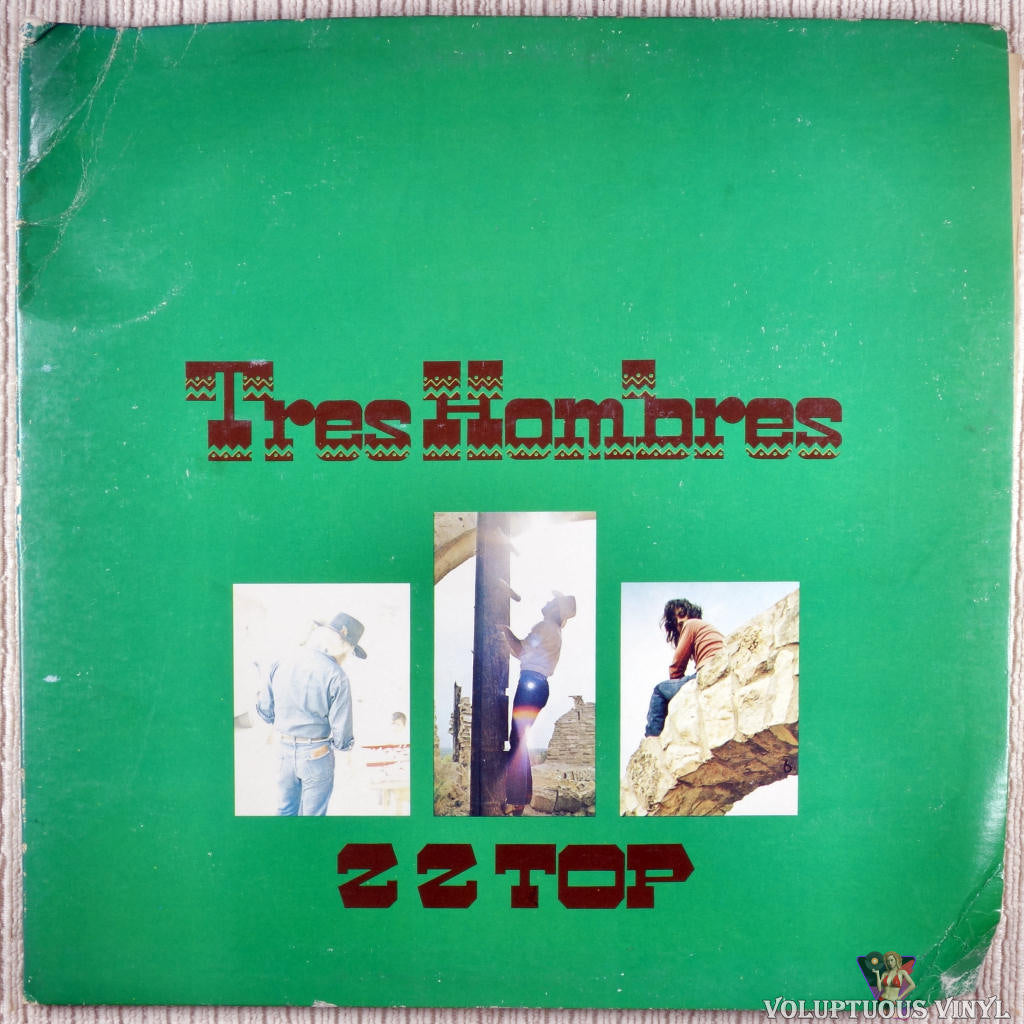 ZZ Top ‎– Tres Hombres vinyl record front cover