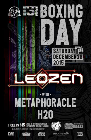 13th Floor BOXING DAY - LEO ZEN & METAPHORACLE