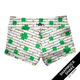 Shamrock Shake Shorties-Booty Shorts-WodBottom-Womens CrossFit Shorts-WodBottom