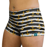 Pirate Booty Shorties-Booty Shorts-WodBottom-Womens CrossFit Shorts-WodBottom