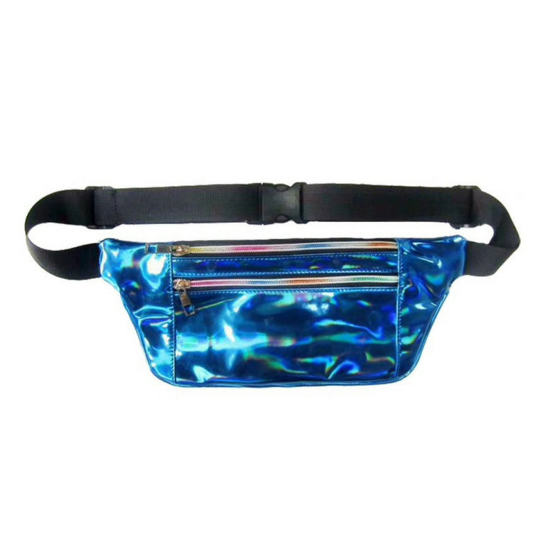 Holographic Slim Belt Bag